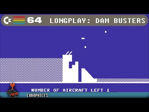 Dam Busters - C64 Longplay / Full Playthrough / Walkthrough