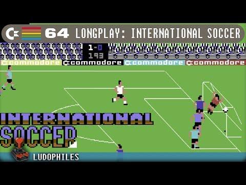 International Soccer - C64 Longplay / Playthrough / Walkthrough (no commentary) 4K60FPS #retrogaming